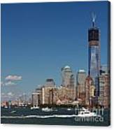 Manhattan Battery Park Skyline Canvas Print