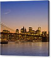 Manhattan Brooklyn Bridge Canvas Print