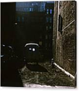Manhattan Mystery Canvas Print