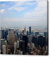 Manhattan Overview Canvas Print
