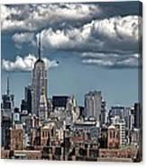 Manhattan-skyline Canvas Print