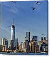 Manhattan South Canvas Print