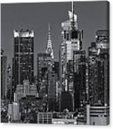 Manhattan Twilight Ix Canvas Print