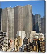 Manhattan Urban Jungle Canvas Print