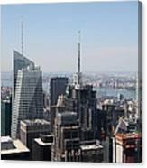 Manhattan View 2012 Canvas Print