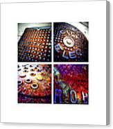 Manholes_06.02.12 Canvas Print