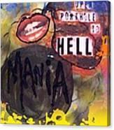 Mania Canvas Print
