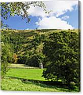 Manifold Valley And Dovecote - Swainsley Canvas Print