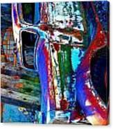 Manipulated Truck Canvas Print