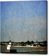 Manitowoc Breakwater Light 2.0 Canvas Print