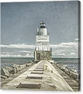Manitowoc Breakwater Lighthouse II Canvas Print