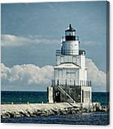 Manitowoc Breakwater Lighthouse Canvas Print