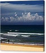 Manly Beach panorama Canvas Print
