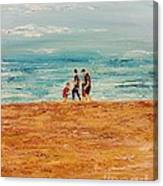 Manly Seashore Sydney Canvas Print
