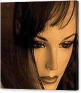 Mannequin Face Canvas Print