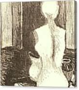 Mannequin Life Canvas Print