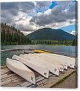 Manning Parks Lightning Lake Canvas Print