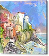 Manorola In Italy 05 Canvas Print