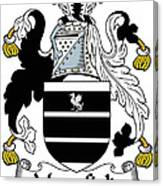 Mansfield Coat Of Arms Irish Canvas Print