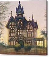 Mansion In Eureka Canvas Print