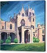Mansion In Tarrytown Canvas Print
