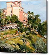 Mansion Of King Zogu  Canvas Print