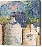 Mantelpiece Canvas Print