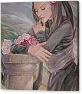 Mantilla Canvas Print