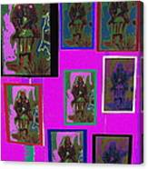 Many Geronimos Collage 1887-2012 Canvas Print