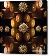 Many Lit Candles Canvas Print