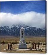 Manzanar National Historic Site Canvas Print