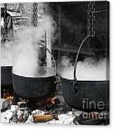 Maple Syrup Pioneer Style Canvas Print