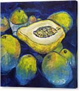Maracuya/passion Fruit Canvas Print