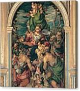 Marascalchi Pietro, Our Lady Of Mercy Canvas Print