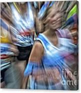 Marathon Abstract 2 Canvas Print