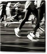 Marathon, Nyc, New York City, New York Canvas Print