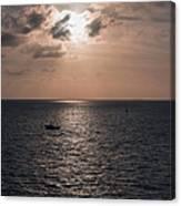 Marathon Sunset Canvas Print