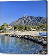 Marbella Holiday Resort In Spain Canvas Print