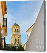 Marbella Old Town Canvas Print