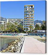 Marbella Resort In Spain Canvas Print