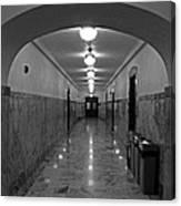 Marble Hallway Canvas Print
