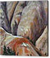 Marble Ridge Canvas Print