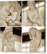 Marble Sculpture Canvas Print