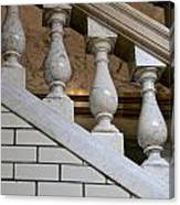 Marble Staircase Canvas Print