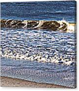 Marble Waves Canvas Print