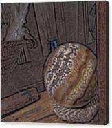 Marbled Ball Canvas Print