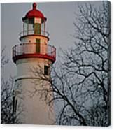 Marblehead Lighthouse On Lake Erie  Canvas Print