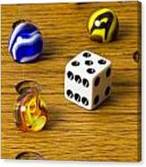 Marbles Board Game 1 C Canvas Print