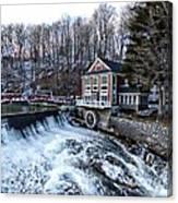 Marcellus Falls llll Canvas Print