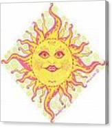 March Miss Patty Sun Canvas Print